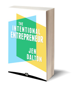 LAUNCHING A NEW BOOK: THE INTENTIONAL ENTREPRENEUR