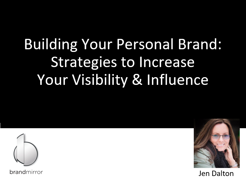 Strategies to Build Your Personal Brand