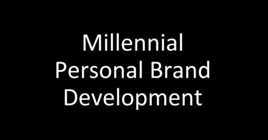 Millennial Personal Brand Development