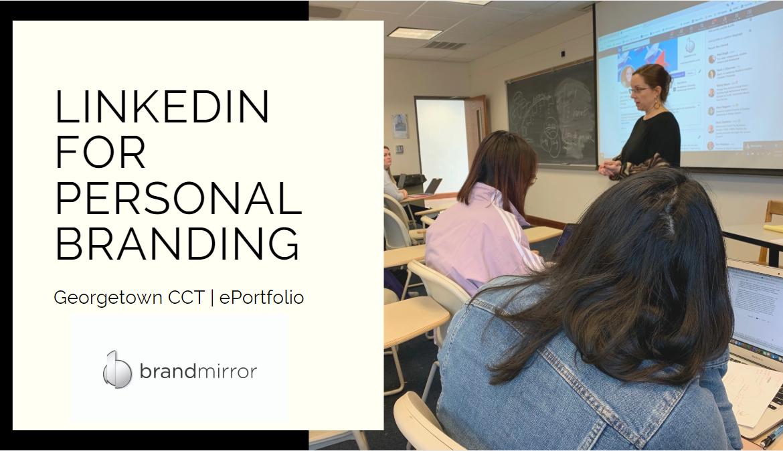 CCT Georgetown LinkedIn Workshop