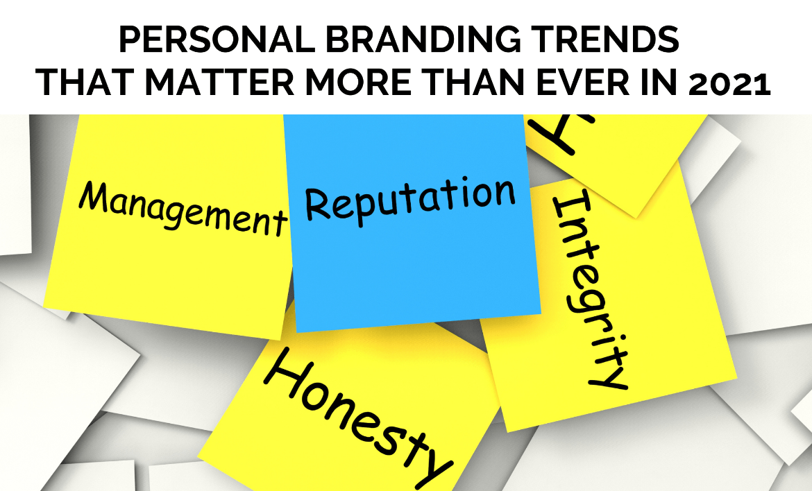 2021 Personal Brand Trends