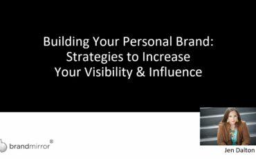 Presentation: February 2021   Career Confidence, Personal Branding