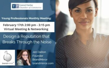 Young Professionals Monthly Meeting: Design a Reputation that Breaks Through the Noise